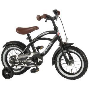 Børnecykel Cruiser 12 tommer sort - Børnecykel 21201