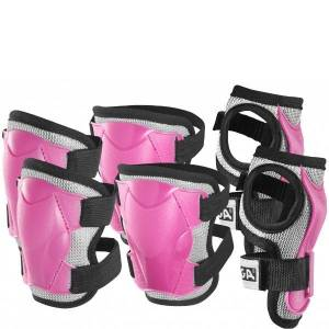 Stiga Protection Set Comfort til børn, Pink