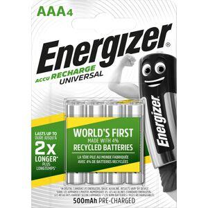 Energizer Universal Recharge AAA batteri 500mAh (4 stk.)