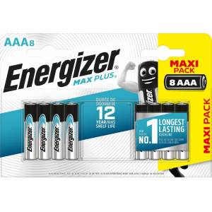Energizer Max Plus AAA/E92 (8 Stk....