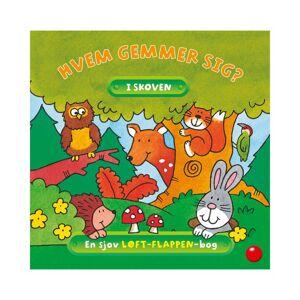 Hvem gemmer sig i skoven?  En flap-bog til børn