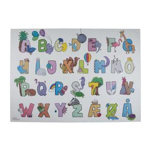 Plakat - ABC 40x30 cm