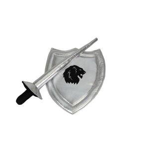 Lanse og skjold - sølv