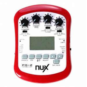 Nux PG-2 guitar-effekt-processor