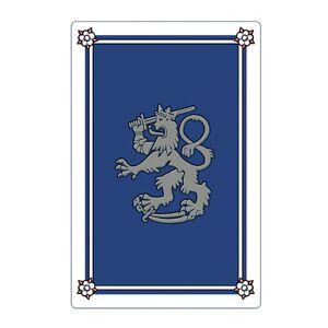 Laatukoru, Pelikorttipakka, Leijona, sininen