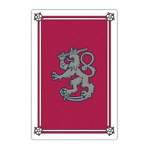Ykköslahjat, Pelikorttipakka, Leijona, punainen