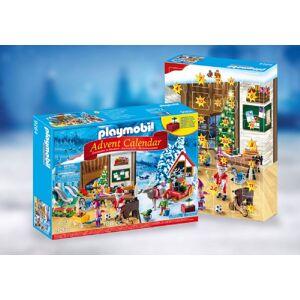 Playmobil Joulukalenteri Joulupukin paja - Playmobil joulukalenteri 9264
