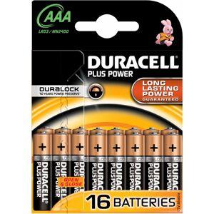 Duracell AAA Plus Power 16 kpl Patterit