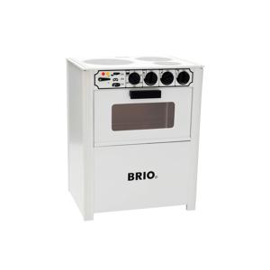 BRIO Komfyr hvit