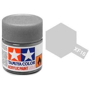 Akrylmaling MINI XF-16 Flat Aluminum Tilsvarer Italeri 4677AP og 4678AP