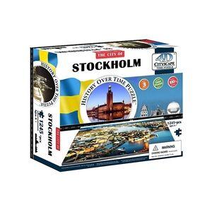 Cityscape 4D Cityscape Puzzle Stockholm