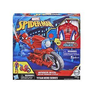 Marvel Spider-Man Titan Hero Series Power Cycle