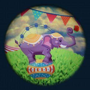 Optikinetics Solar Effekthjul Sirkus