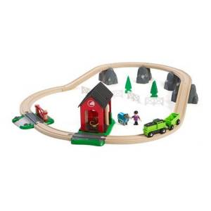 Brio Togbane, Countryside med hest (281-33790)