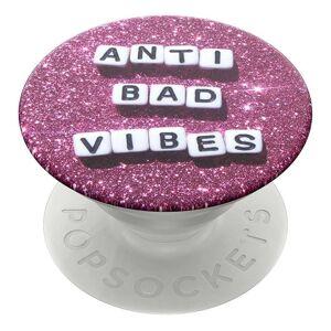 """Popsockets Popgrip """"Anti Bad Vibes"""" Avtagbart Grep Med Holder Stativfunksjon"""