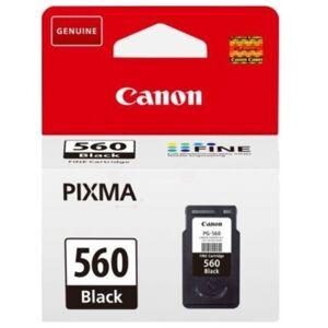 Canon Blekkpatron svart, 180 sider PG-560 Tilsvarer: N/A