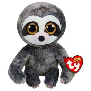 Bamse TY Dangler grey sloth reg: Beanie Boos 15,5 cm