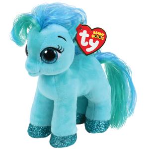 Bamse TY Topaz teal pony reg: Beanie Boos 15,5 cm
