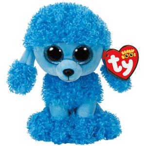 Bamse TY Mandy blue poodle regular: Beanie Boos 15,5 cm
