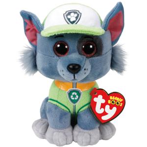 Bamse TY Rocky – dog regular: Beanie Boos 15,5 cm