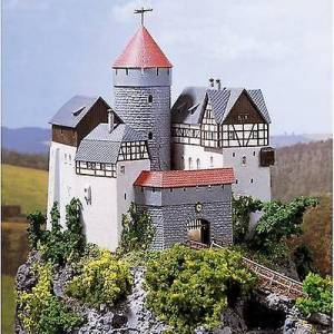 Auhagen 12 263 H0, TT, N modell slottet Lauterstein