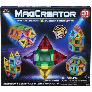 ART Cra-Z-Art MagCreator Byggset, 31 stk