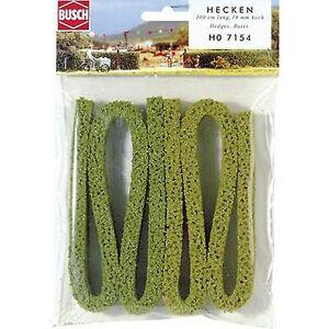 Busch 7154 hekk 18 mm grønn