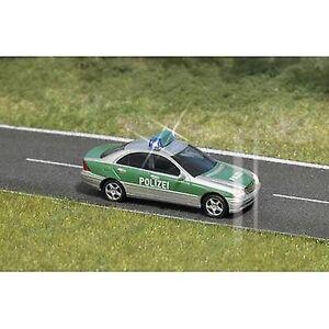 Busch 5630 H0 MB C-klasse politiet med blinkende lys