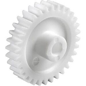 Reely Polyoxymethylene Spur gir Modul Type: 1.0 Bore diameter: 10 mm Nei. tenner: 80