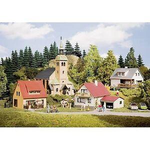 Auhagen 15201 H0, TT sett landsby WALDKIRCHEN