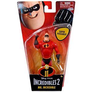 Superhjältarna Incredibles Mr. Figur Utrolig
