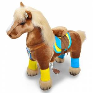 Pony Cycle Light Brown Horse, Withers Height 49cm, Age 3-5 3 - 5 years