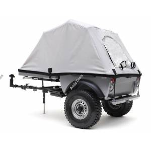 """Team Raffee TRC 1:10 Pop-Up Camper Tent Trailer Kit (w/1.55"""" 16-Hole Steelies and SP Road Tracker Tires)"""