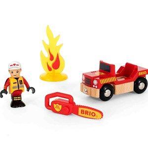 BRIO BRIO World - 33876 Sett med brannmann 3 - 8 years