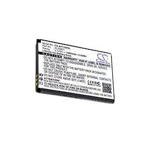 Archos 35b Titanium Dual Sim batteri (1600 mAh, Sort)