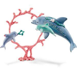 Schleich Delfin Med Babyer