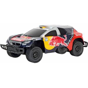 Carrera RC Peugeot Red Bull Dakar Radiostyrt Bil
