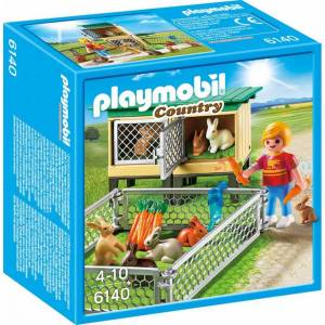 Playmobil 6140 Kaninbur med Utendørsinnhegning