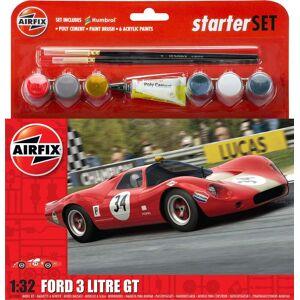 Airfix Klassisk Racerbil, Rød