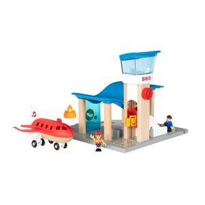 Brio Flyplass med Fly og Kontrolltrn