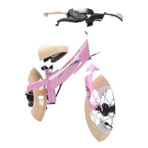 bikestar Springcykel 10, Pink Enhörning