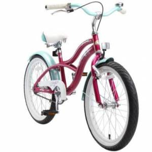 bikestar Premium Barncykel 20 Creamy Violett