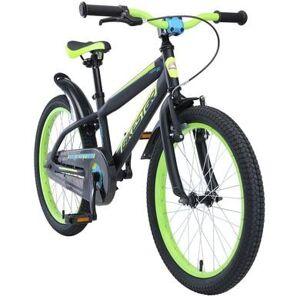 bikestar Barncykel 20 Mountain svart/gul