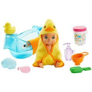 Barbie Bebis med badkar dags att bada