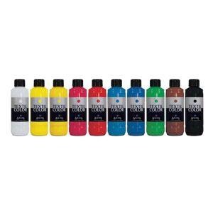 Staples Textilfärg 250ml 10 färger