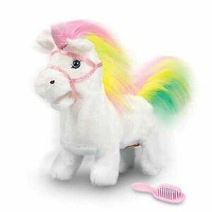 Animigos Rainbow Unicorn animerad mjuk leksak