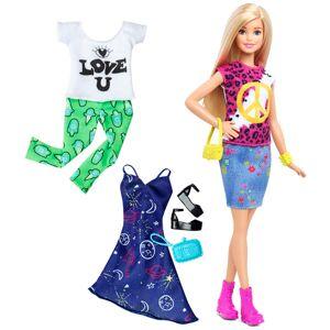 Barbie Fashionista docka Peace & Love DTD98