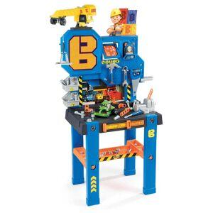 Smoby Arbetsbänk för barn Bob the Builder blå och orange
