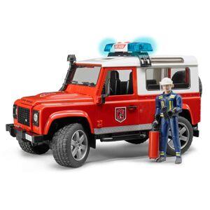 Bruder Brandbil Land Rover Defender 1:16 02596