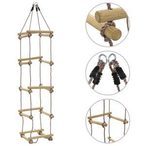 vidaXL Repstege för barn 200 cm trä